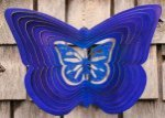 Shaped Butterfly Wind Spinner